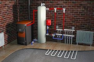 Монтаж систем отопления в Киеве